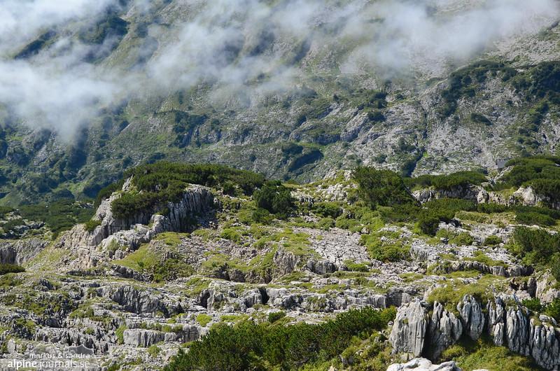 Karst terrain at the Gottesacker plateau