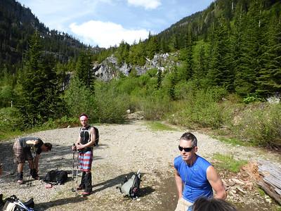 Rampart Lakes June 2014