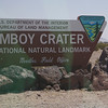 Amboy Crater entrance