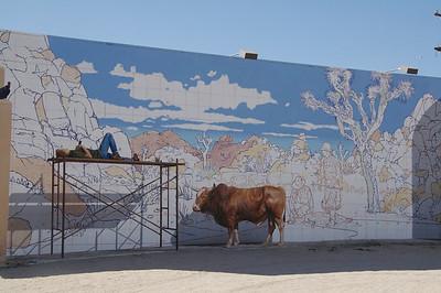 "Twenty-Nine Palms has this amazing ""real"" mural"
