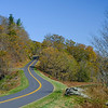 Winding our way along the Blue Ridge Parkway