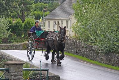 Horse Pulling Cart - Ireland
