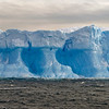Rugged iceberg detail.