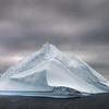 Solitary iceberg at Antarctica