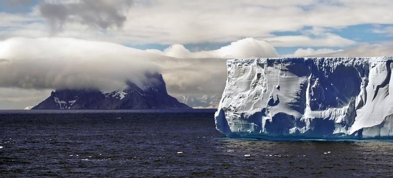 Iceberg near Elephant Island, South Georgia.