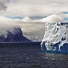 Iceberg near Elephant Island, South Georgia.