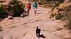 Apache Trail 01 (Viv, Sue & Tiko on old FR213 Rd)
