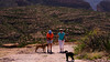 Apache Trail 04 (Viv, Sue, Zoe & Tiko on old FR213 Rd)