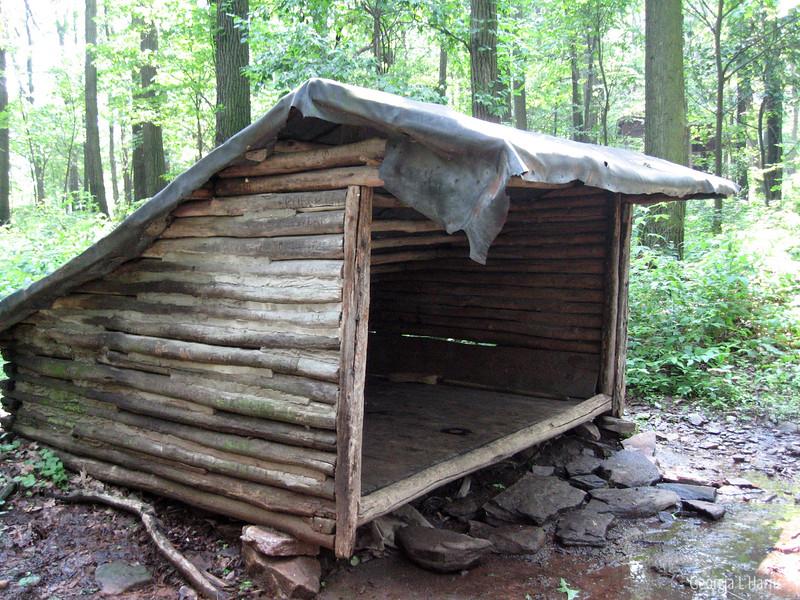Shaeffer's First Shelter