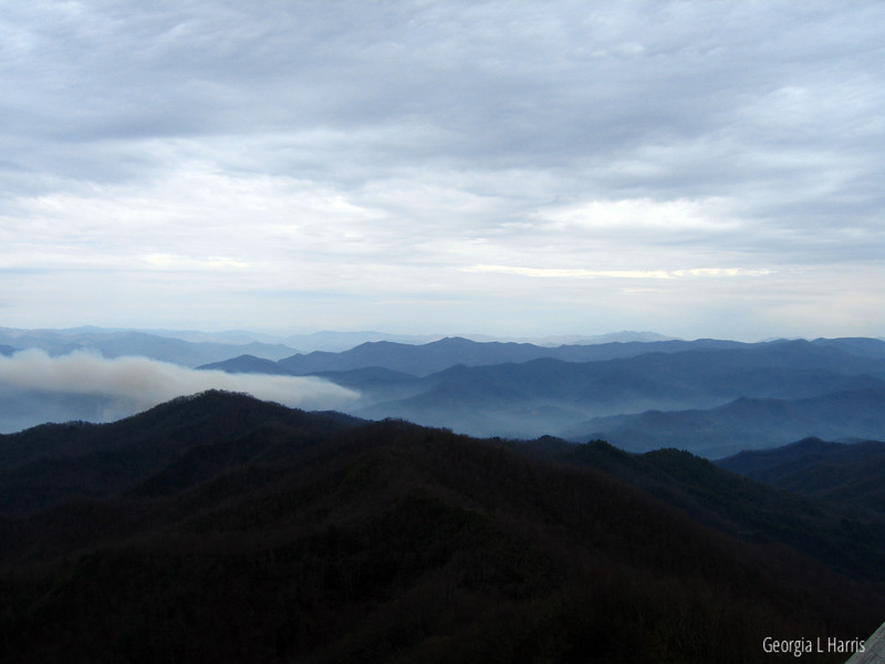 View from Wesser Bald Observation Tower