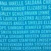 My name on the Nike Half Marathon wall. Sadly, I sprained my ankle a month ago and will not be able to run. Maybe next year!