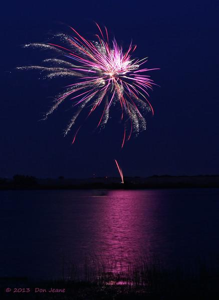 Coleto Creek Park, Goliad, July 4, 2013