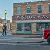 Standing on the corner of Winslow, Arizona...