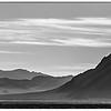 Silhouette of the desert