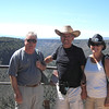 2013- NM- Gerold, Tony, Linda at Rio Grande canyon