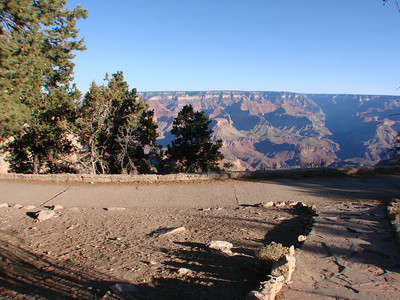 South Rim Grand Canyon from Angel Peak Cabin room