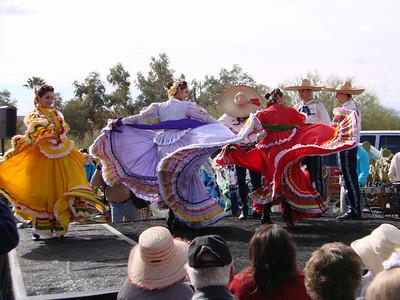 """Ballet Folklorico Tapatio, """"La Fiesta de Guadalupe,"""" DeGrazia Gallery in the Sun, Tucson, Arizona, Sun., Dec. 6, 2009"""