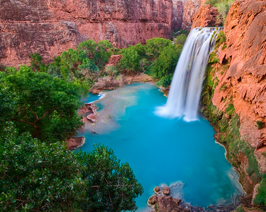 Havasu Falls in Afternoon Splendor