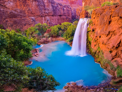 Sunset at Havasu Falls