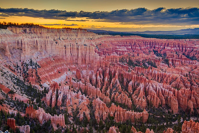 Bryce Amphitheater Sunset