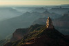 Mount Hayden Point Imperial Sunrise<br /> Grand Canyon National Park North Rim Arizona