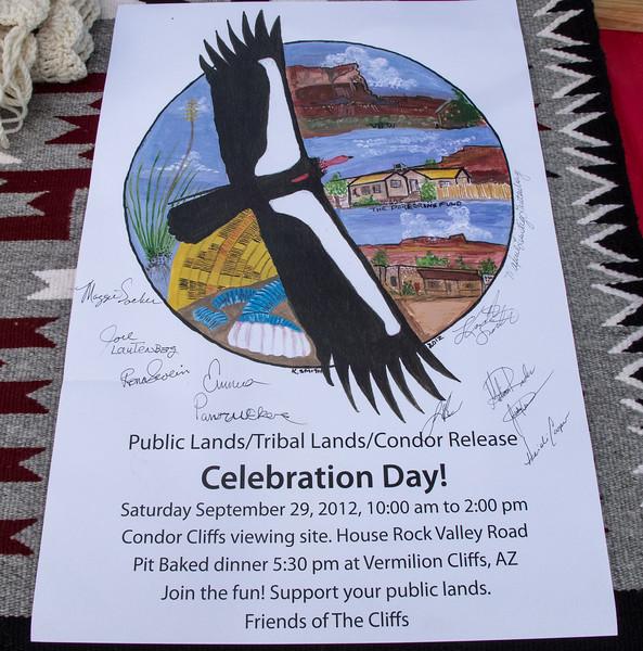 Celebration Day Poster<br /> Vermilion Cliffs National Monument Arizona