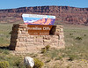 Sign Vermilion Cliffs National Monument<br /> Sign Vermilion Cliffs National Monument Arizona