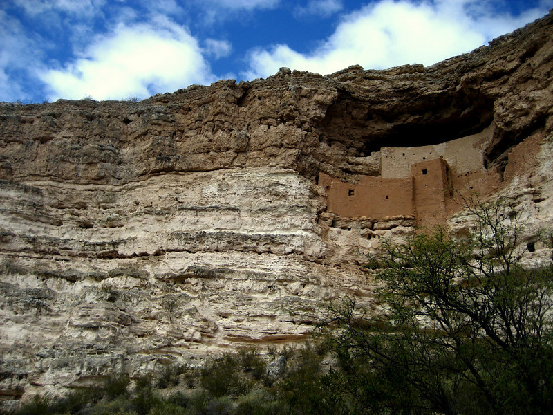 Montezuma's Castle National Monument. nr. Camp Verde, AZ.