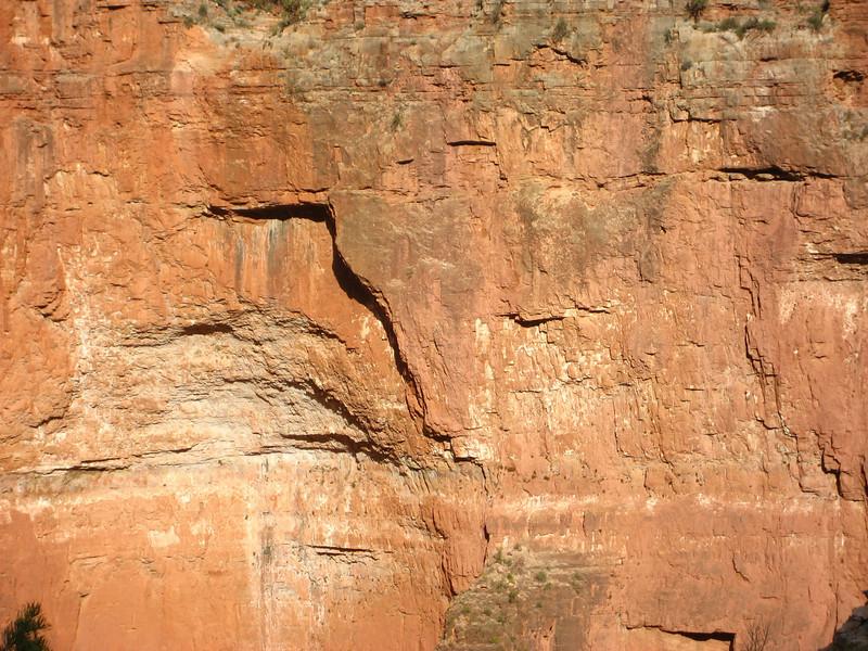 Grand Canyon wall