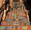 Tile Steps, Santa Fe, NM