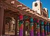 Native American Museum Columns, Santa Fe, NM