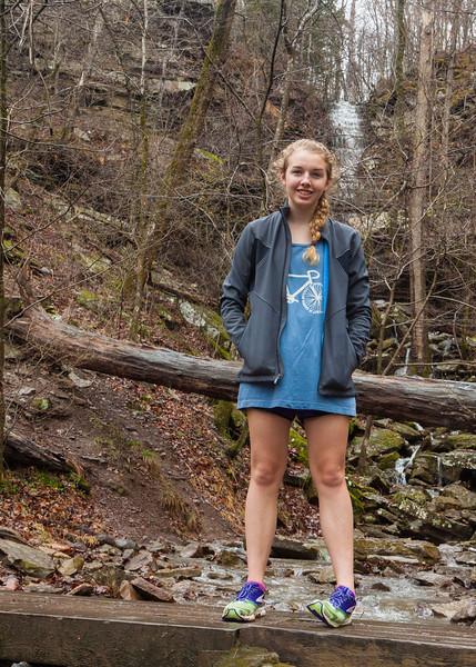 Caroline at Twin Falls