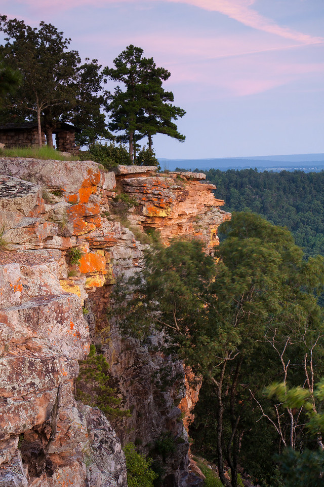 CCC Overlook, Red Bluff Drive, Mt. Petit Jean State Park