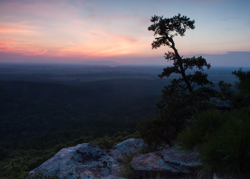View from CCC Overlook, Mt. Petit Jean, Arkansas