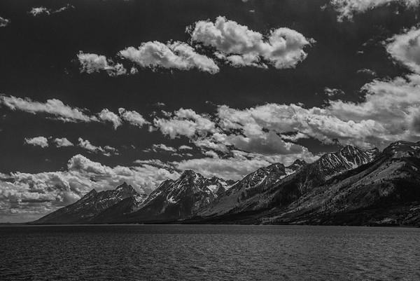 Grand Tetons from Jackson Lake