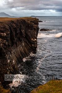 Snaefellsnes Peninsula, Iceland - near Hellnar