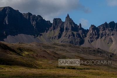Northern Iceland Mountains
