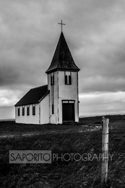 Hellnar, Iceland, Church
