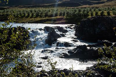 Glanni Waterfall, Iceland