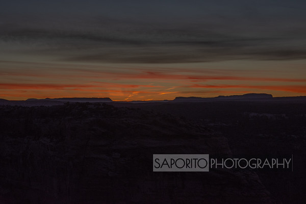 Canyon de Chelley Sunrise