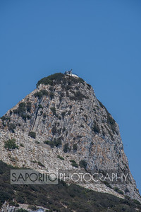 Gun Placement on Rock of Gibraltar