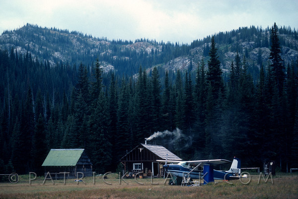 Fish Lake Cabin, Bitterroot Wilderness, Idaho