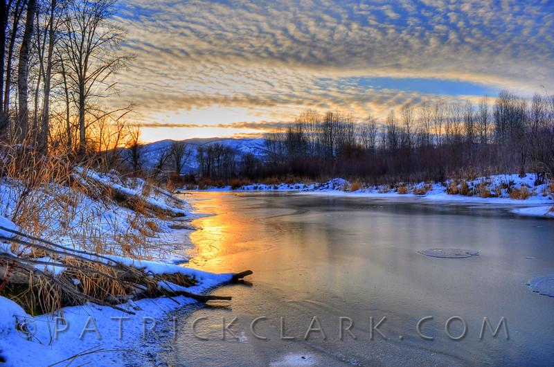 Ice Glow, Missoula,Montana