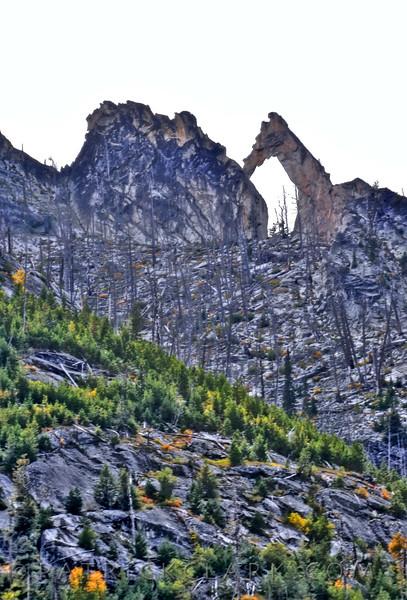 Blodgett Canyon, Arch, Hamilton, Montana