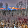 Snowbowl Glow, Missoula,Montana