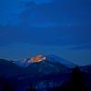 First Light on Lolo Peak, Missoula,Montana