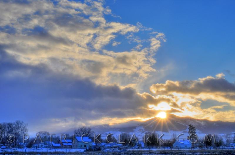 Orchard Homes Sunrise, Missoula,Montana