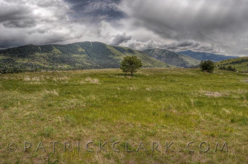 Waterworks Hill, Mt Jumbo, Missoula,Montana