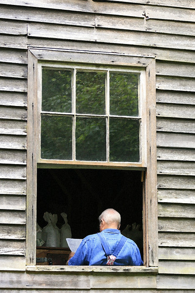 Man in the Window 108