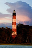 """Guiding Light2""- Evening descending on the Assateague Lighthouse, 8-29-07."